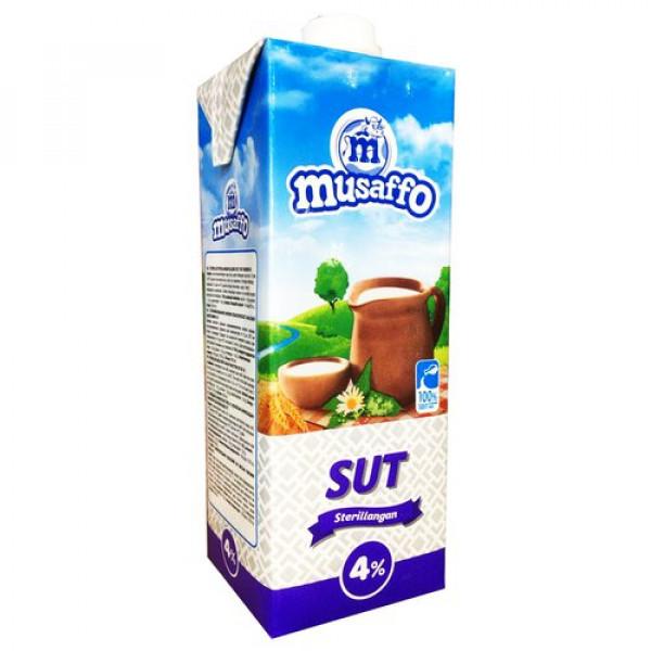 Молоко Musaffo 4% 950мл