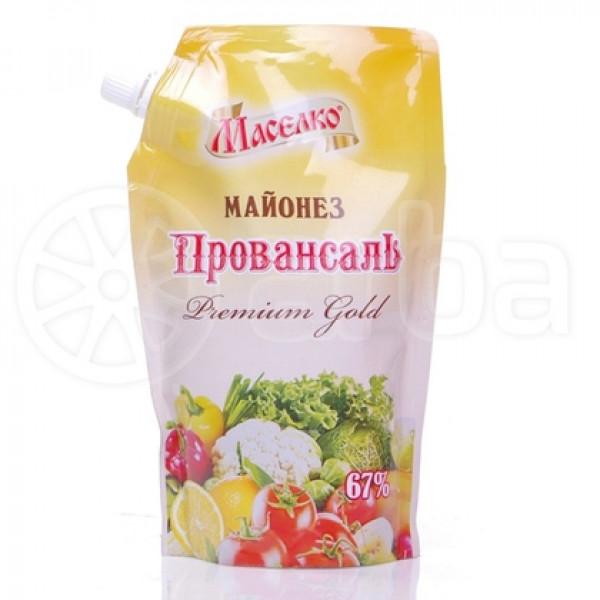 Майонез Маселко Premium Gold 67% 190гр