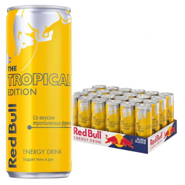 Энергетический напиток Red Bull Yellow 250ml