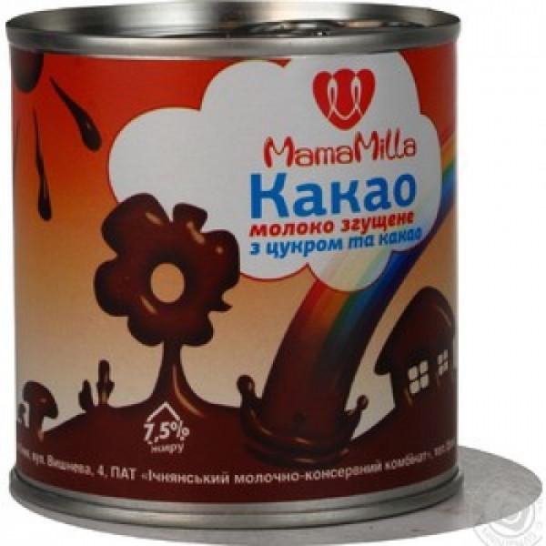 Сгущенное молоко Mama milla Какао 370гр