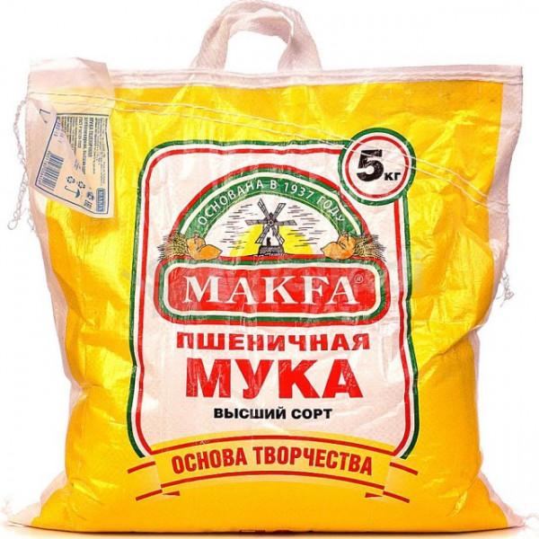 Мука Makfa Пшеничная 5кг