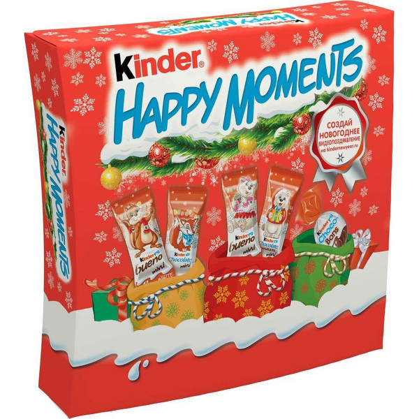 Набор кондитерских изделий Kinder Happy Moments, 242 г