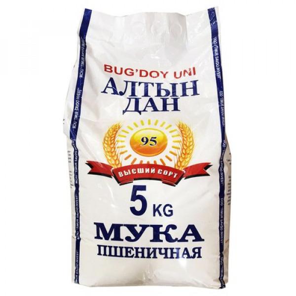 "Мука ""Алтын Дан"" 95 пшеничная 5кг"