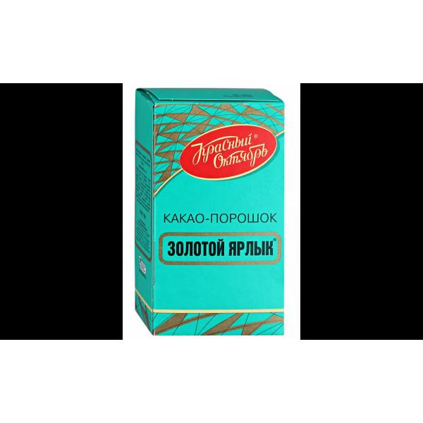 Какао-порошок Красный октябрь Золото и ярлык 100гр