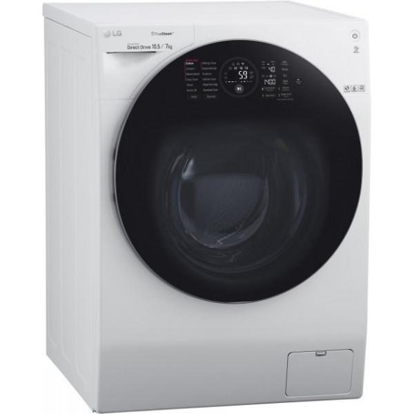 FX4G1JCH2N-сушка, стиральная машина, белый LG