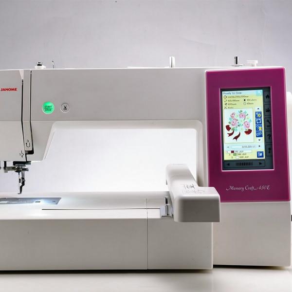 Швейная машина для печатной рекламы