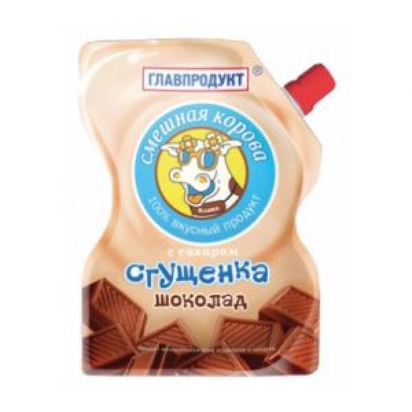 Сгущёнка Главнопродукт Шоколадная 250гр м/у
