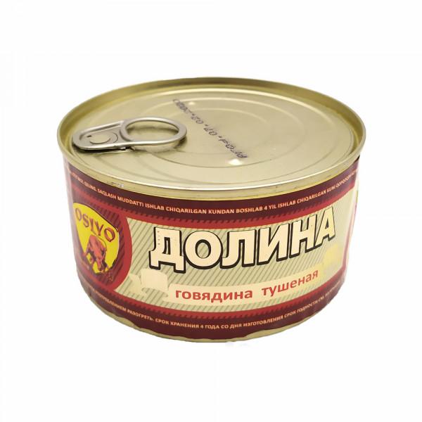 "Тушеная говядина ""Долина"" (325 гр)"