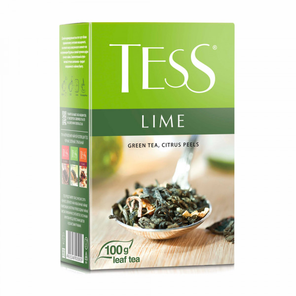 """Зеленый чай """"Lime"""" (100 гр)"""