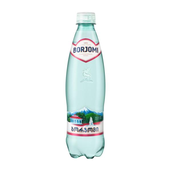 """Минеральная вода """"Borjomi"""" (0,5л) п/б"""