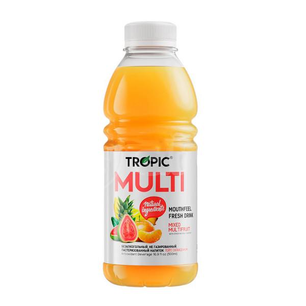 Tropic Напиток Безалкогольный Негазированный со Вкусом Мультифрукта, 500мл