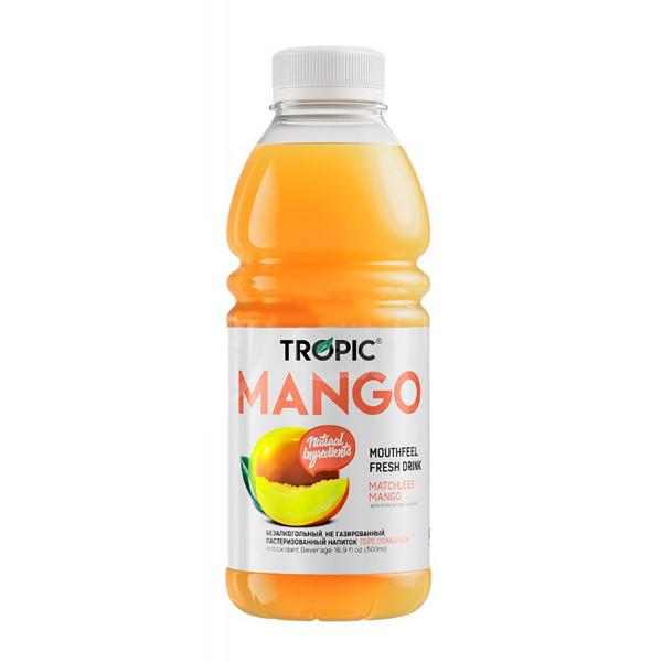 Tropic Напиток Безалкогольный Негазированный со Вкусом Манго, 500мл