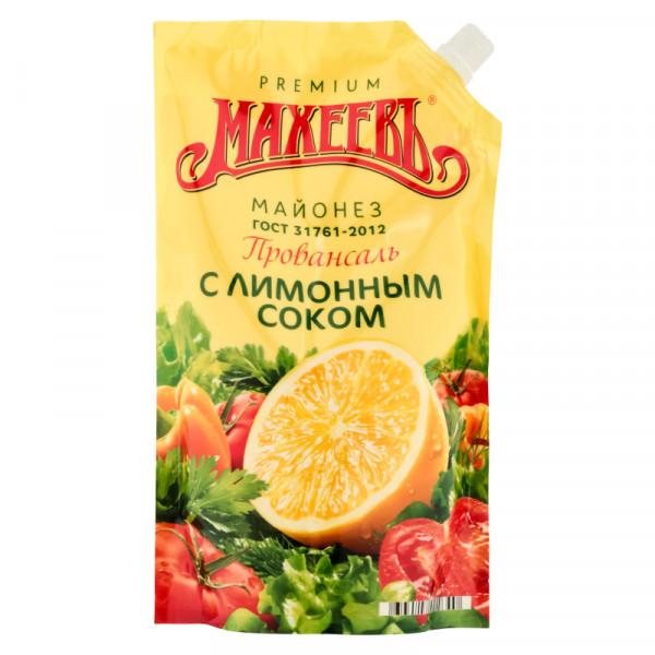 "Майонез Махеевъ ""Провансаль с лимонным соком"" (800мл)"