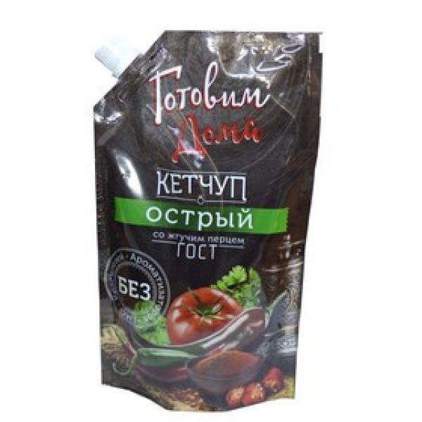 кетчуп готовим дома острый (400гр)