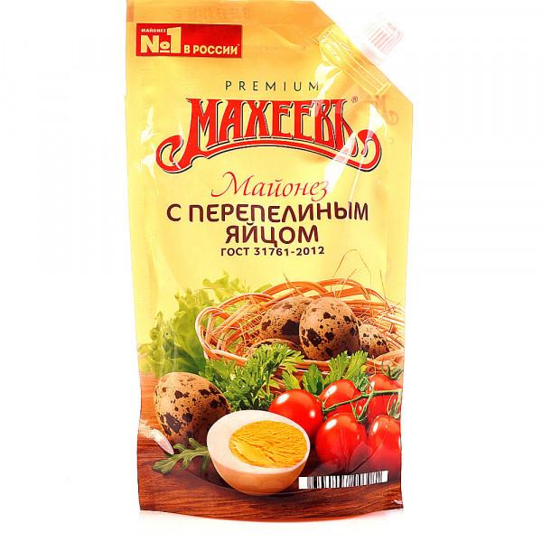 Майонез Махеевъ  с перепелинным яйцом (400мл)