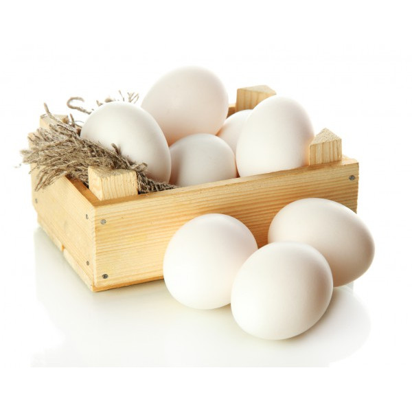 Яйцо белый (15 шт)