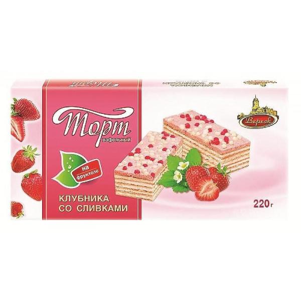 """Вафелтный торт """"Вереск"""" ассор. 220гр"""