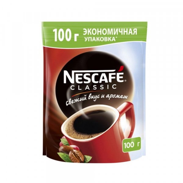 Nescafe Classic 100гр м/у