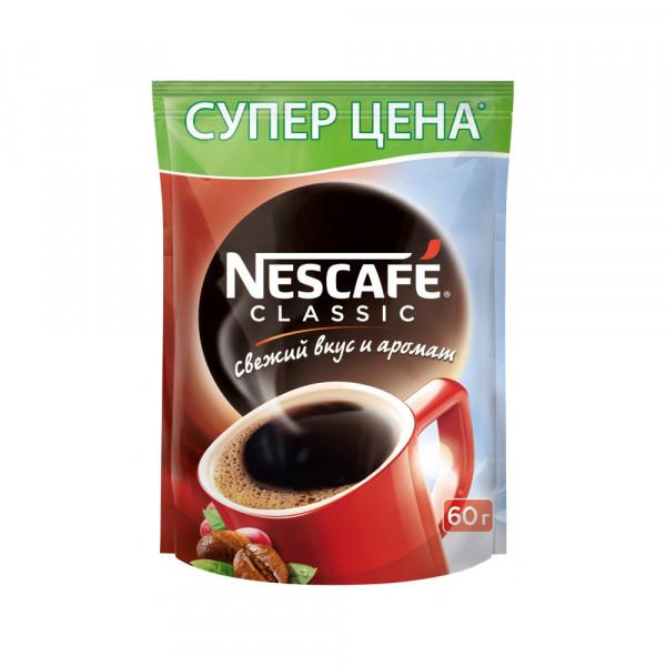 Nescafe Classic 60гр м/у