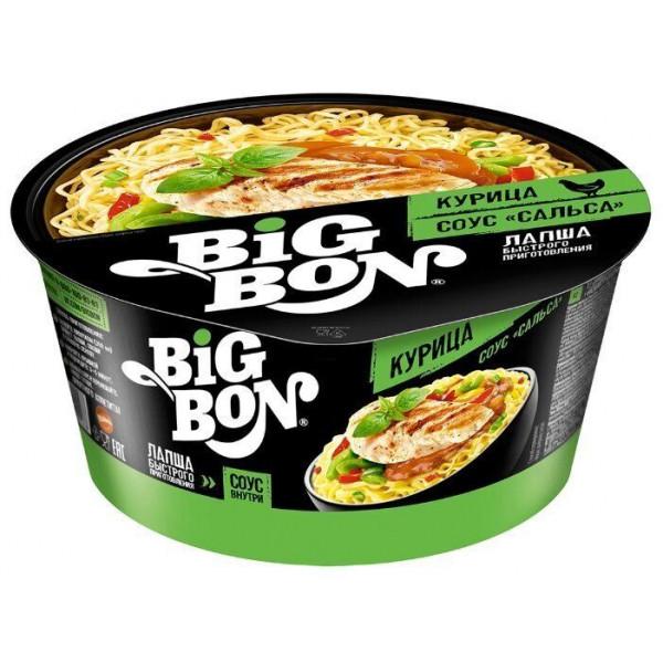 Лапша Big Bon Курица в Соусе сальсе (85гр)