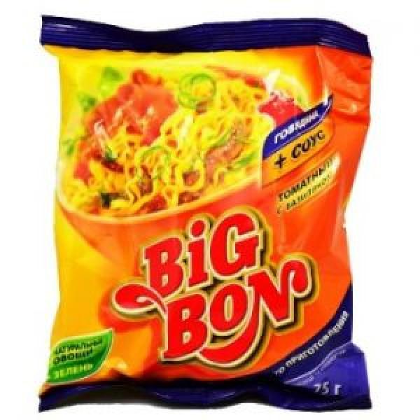 Лапша Big Bon Говядина (75гр)
