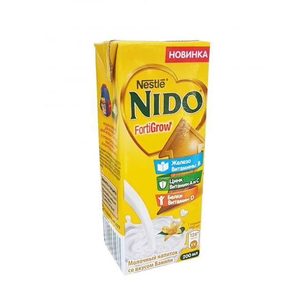 Nestle NIDO молочный напиток со вкусом ванили (200 мл)