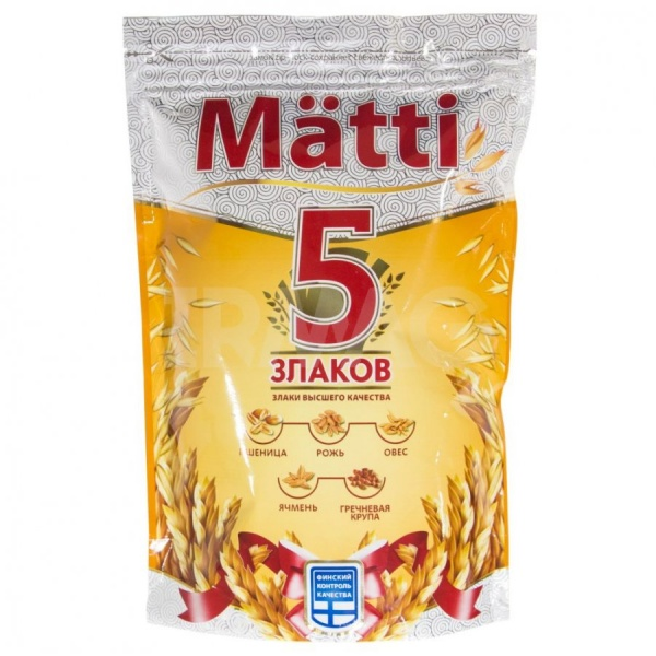 Каша Matti 5 злаков (400гр)
