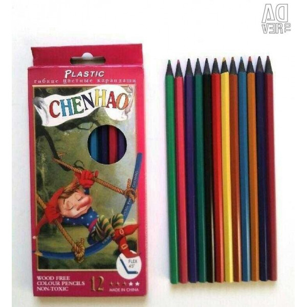 карандаши цветные Chenhao (12шт)