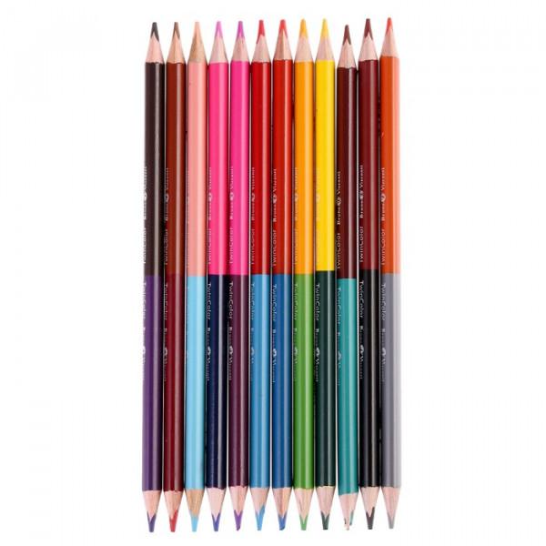 карандаши цветные Monet 12шт 24цв