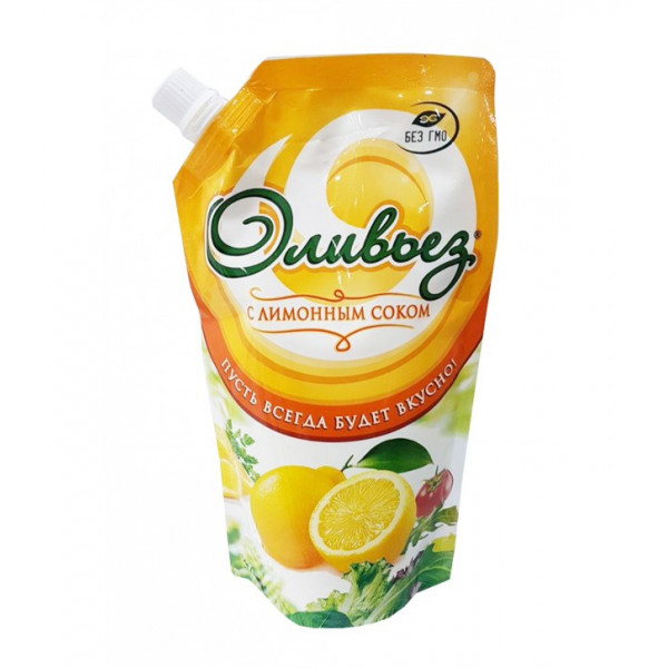 Майонез Оливьез с лимонным соком 700гр