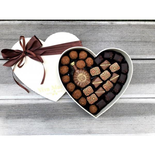 """Бельгийский Шоколад Ручной Работы Viva Maria Chocolateria """"Ассорти для мужчины"""""""