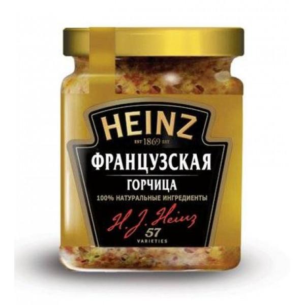 Горчица Heinz Французская 185гр