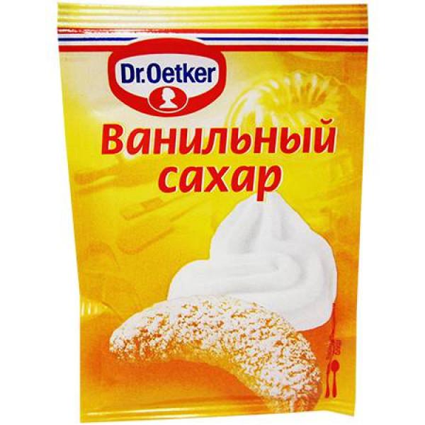Ванильный сахар Dr.Oetker 8гр