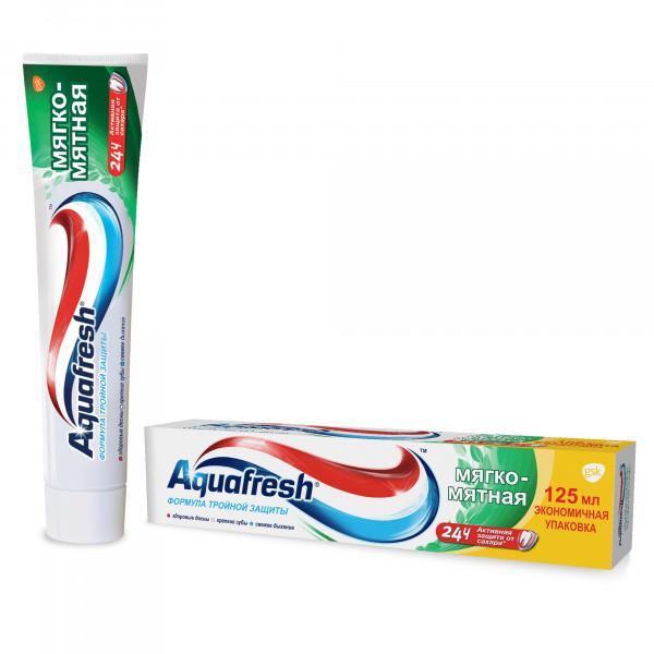 Зубная Паста Aquafresh Мягко-Мятная, 125гр