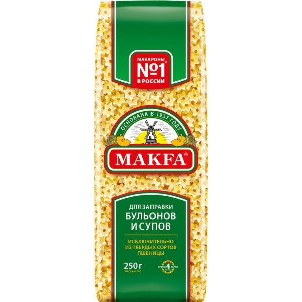 Макароны Makfa Звездочки 250гр