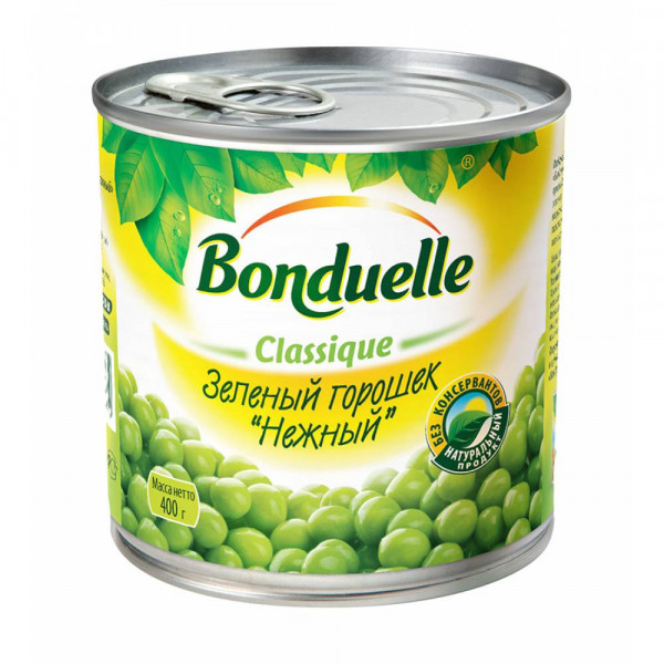 Bonduelle Зеленый горошек 400 г