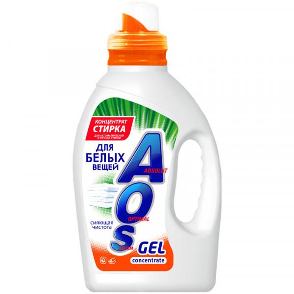 Гель Концентрат AOS для белых вещей 1300г