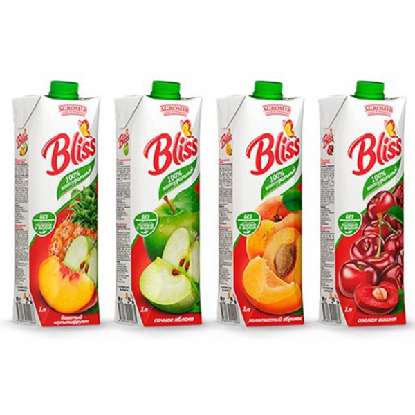 Bliss Tropic Сок в ассорт 1л