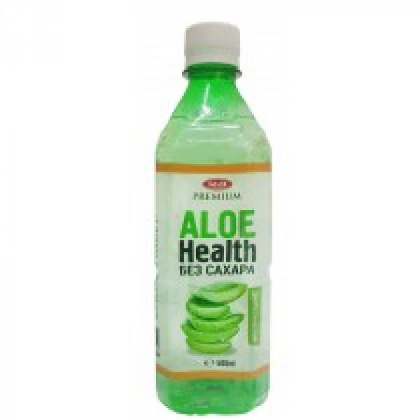 Напиток с мякотью Aloe Health Без сахара 500мл