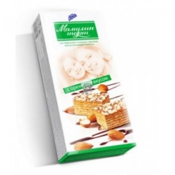 Шоколадный торт Мамулин торт С ореховым вкусом 220гр