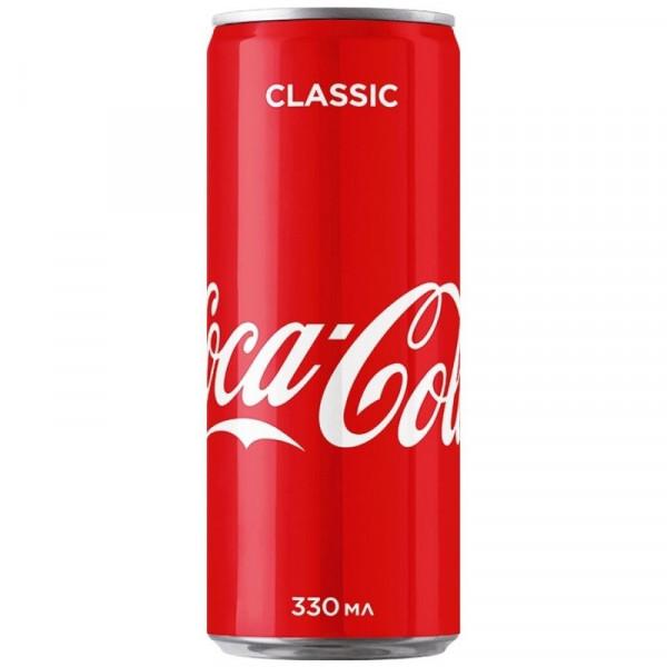 Напиток Coca Cola Classic 330мл