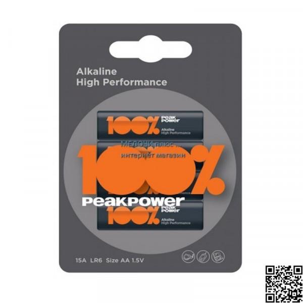 Батарейка AAA (LR03) 100% PeakPower 24A-S2 4шт