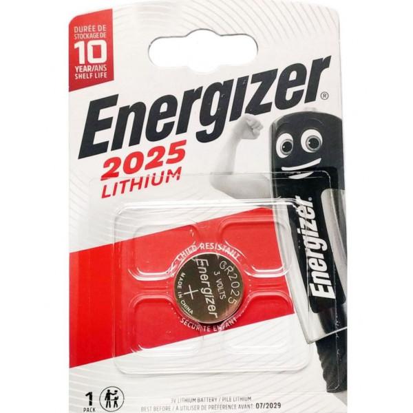 Energizer Lithium Cr2025 Батарейка (3V) (1шт)