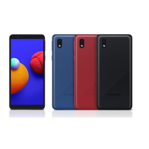 Samsung A013 Galaxy red/blue /black