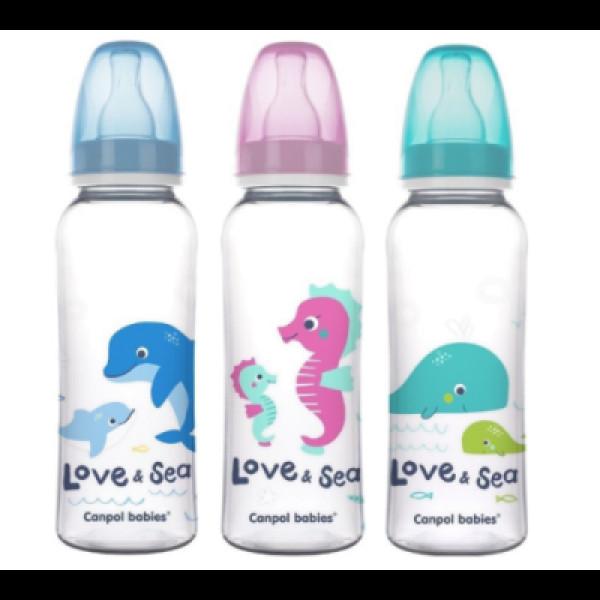 Бутылочка детская Кормления Love bear 250мл