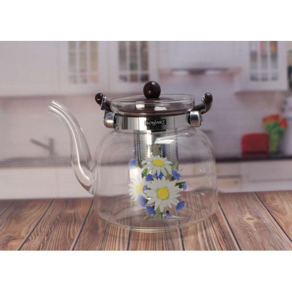Чайник стекляный Jioh NoJY-AP16 1.6л