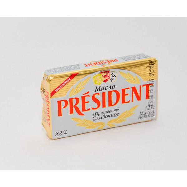 Масло сливочное 82% 125гp