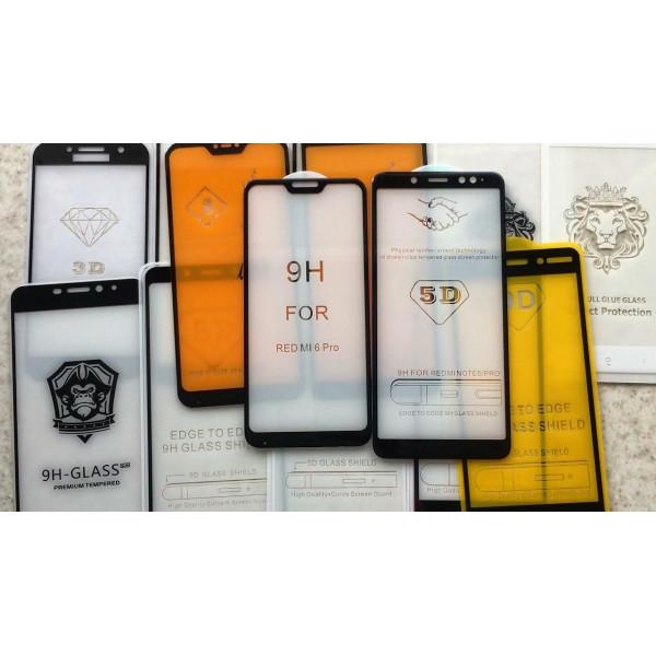10D защитные стекла для iPhone/Samsung/Redmi