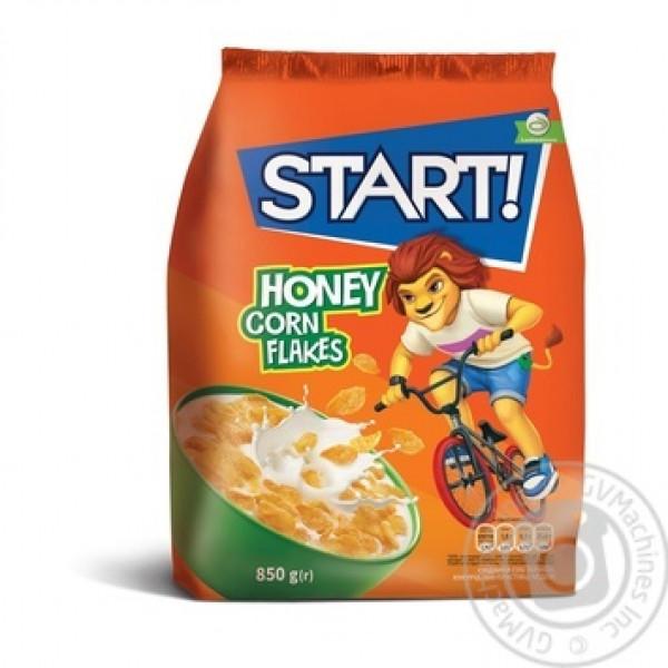 Готовый Завтрак Start HONEY CORN FLAKES 850гр