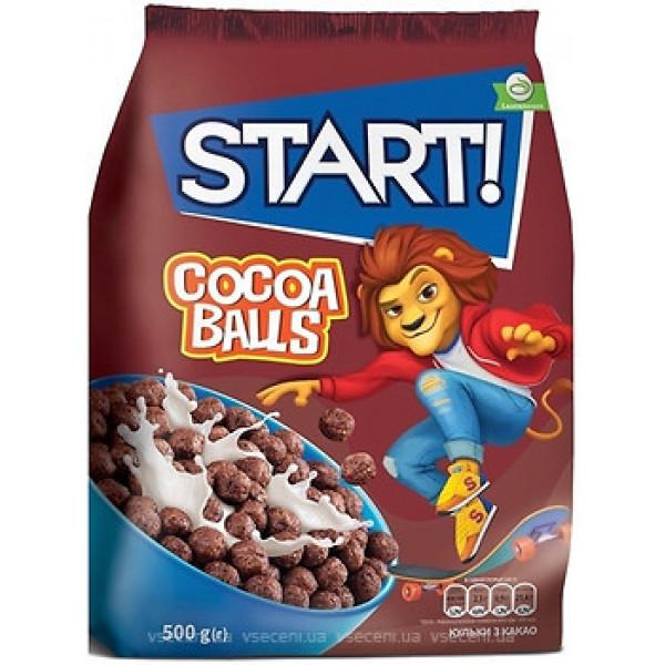 Завтрак сухой Start  Cocoa balls 500 г
